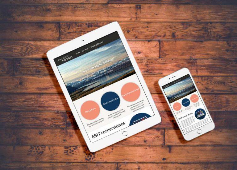 ebitfactory.se - Webbplats