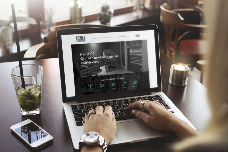 Forma framtid - Grafisk profil, logotyp, webb