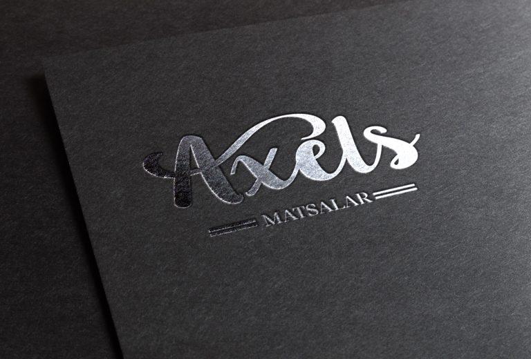 Grafisk profil - Axels matsalar