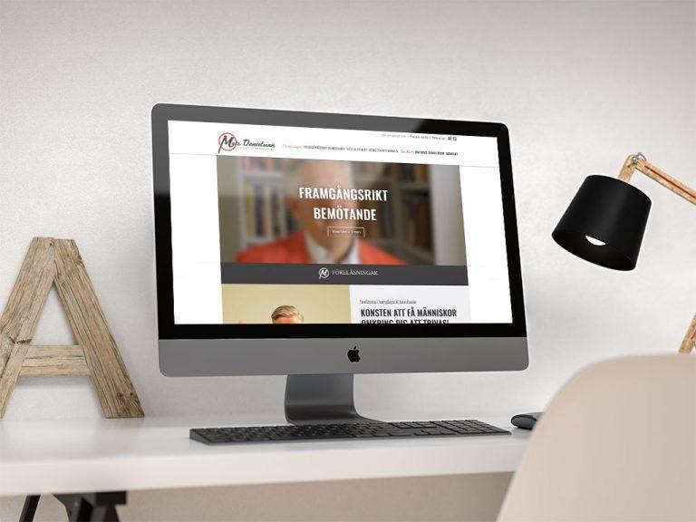 matsdanielsson.se - Webbplats