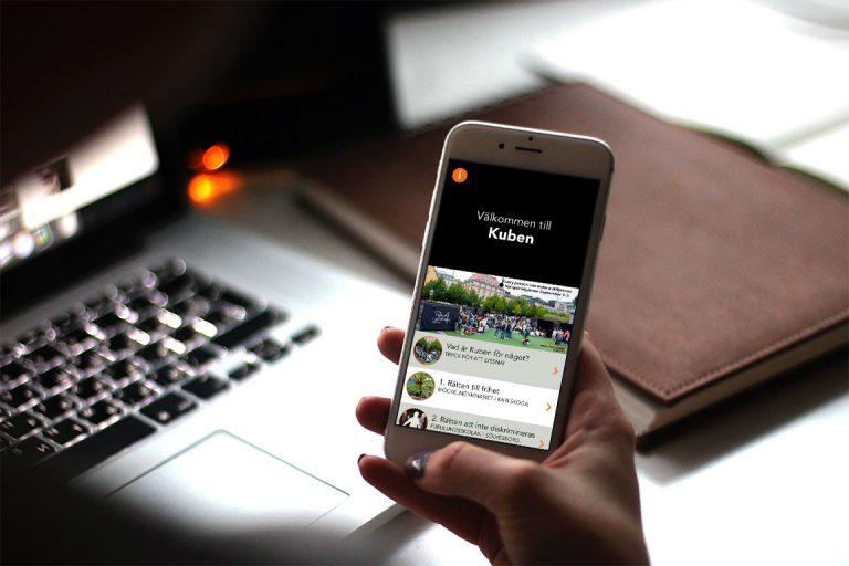 RWA - Raoul Wallenberg Academy - UX-design för app