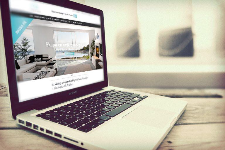 Santex - Webbplats