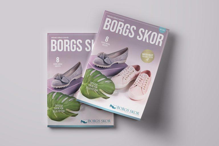 Borgs skor - Kundtidning