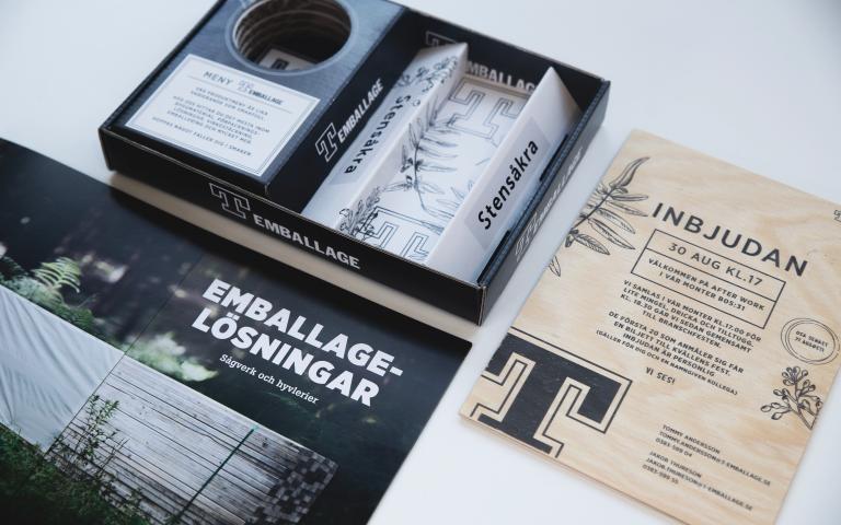 T-emballage - Mässmaterial
