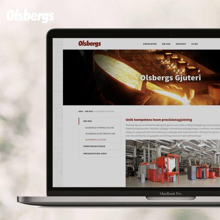 Olsbergs - Webbplats