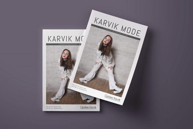 Optiker Karvik - Tidning och digital kampanj