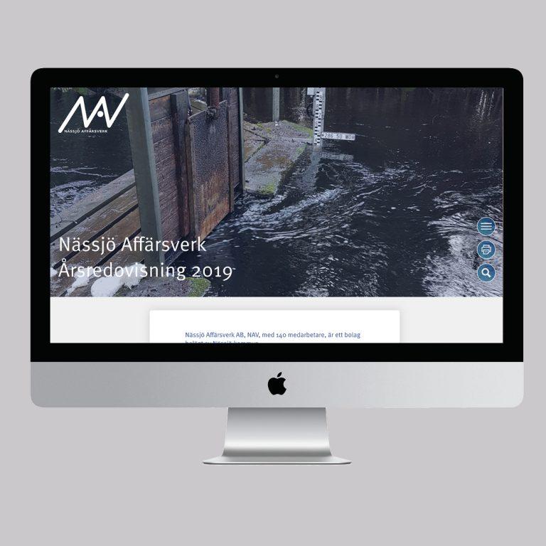 Digital årsredovisning - Nässjö Affärsverk