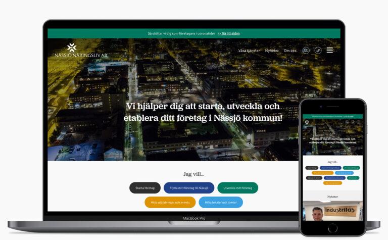 Nässjö Näringsliv - Webbplats